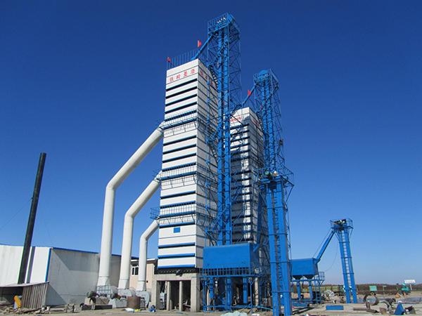 黑龙江省龙镇象屿集团第五管理区三十万吨玉米仓储库 四台SHN1000