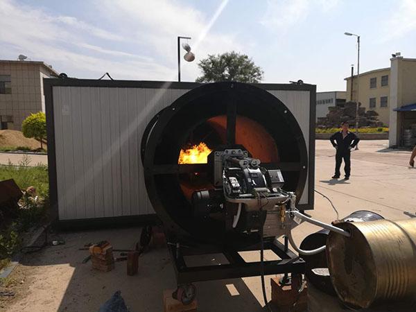 Y型燃油热风炉